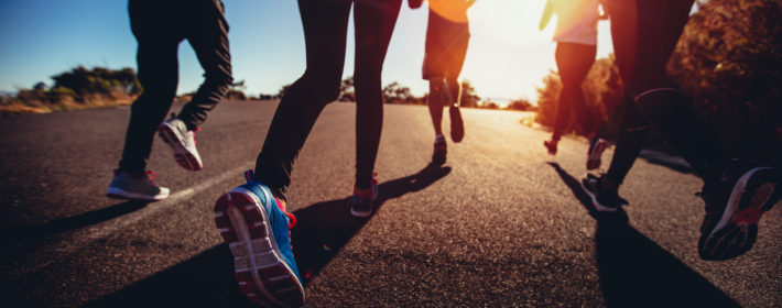 Persone che corrono