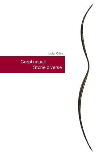 Libro Corpi Uguali Storie Diverse dietologo Luigi Oliva