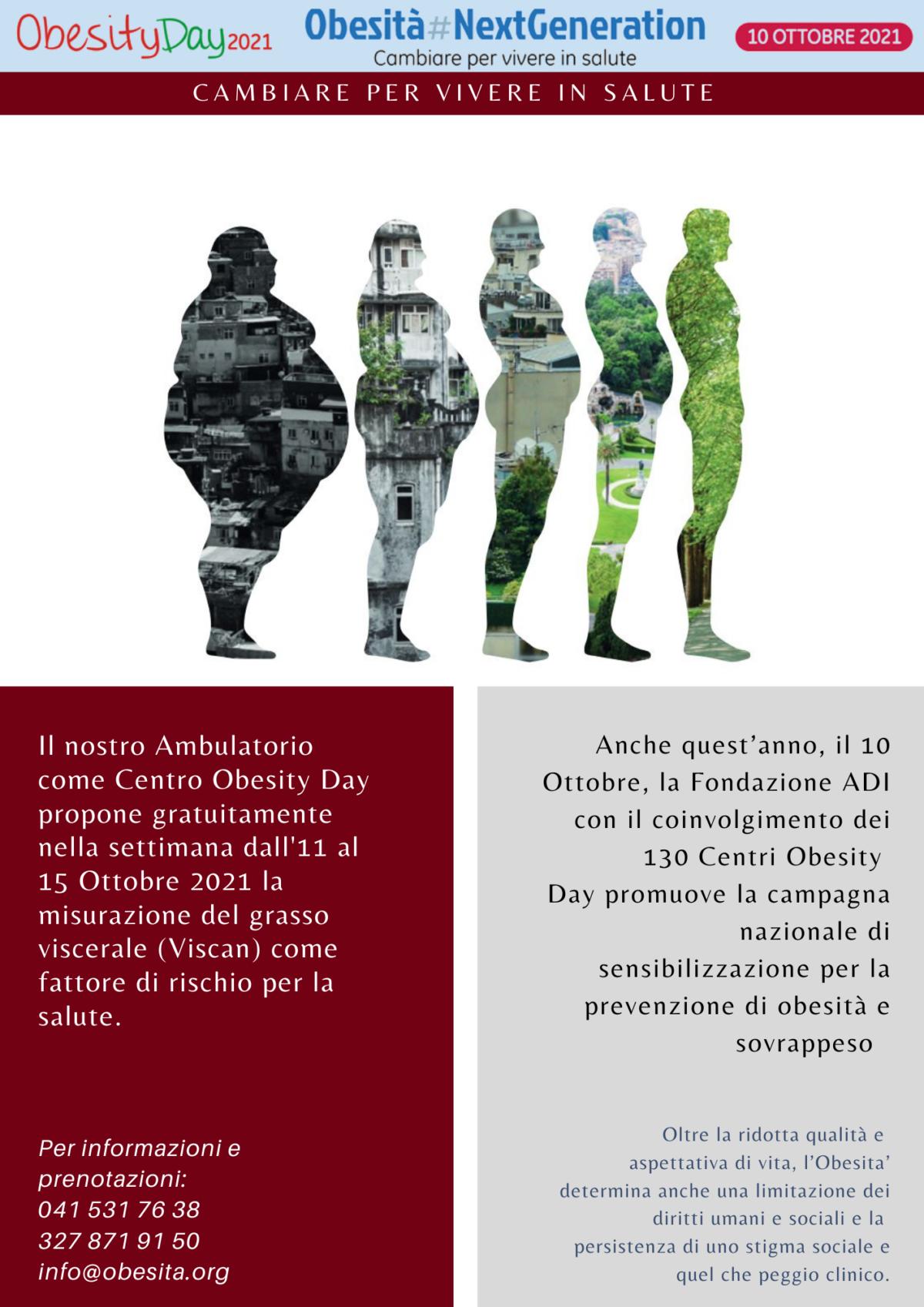 10 Ottobre 2021: Obesity Day